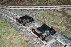 Twin axle bogies