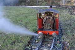 Ajax - blowing down the boiler 2