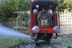 Ajax - blowing down the boiler