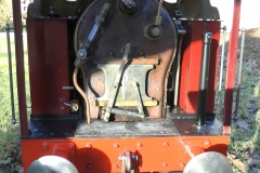 Ajax - view of footplate