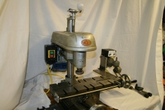 Amolco mill with compound table and power feed