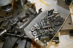 Selection of clamps + milling vice