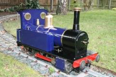 Polly 1 0-4-0 locomotive